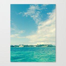 Bahama Ocean Canvas Print