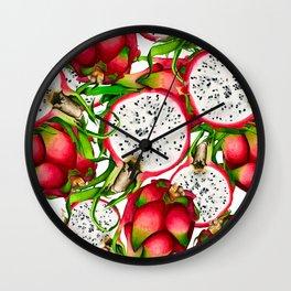 Pitaya Wall Clock