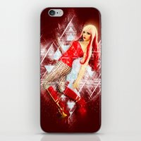 android iPhone & iPod Skins featuring Android by MellodyDoll