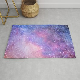 Starry Galaxy Sky Rug