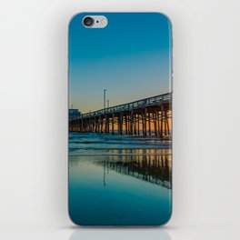 Newport Sunset Seagulls iPhone Skin