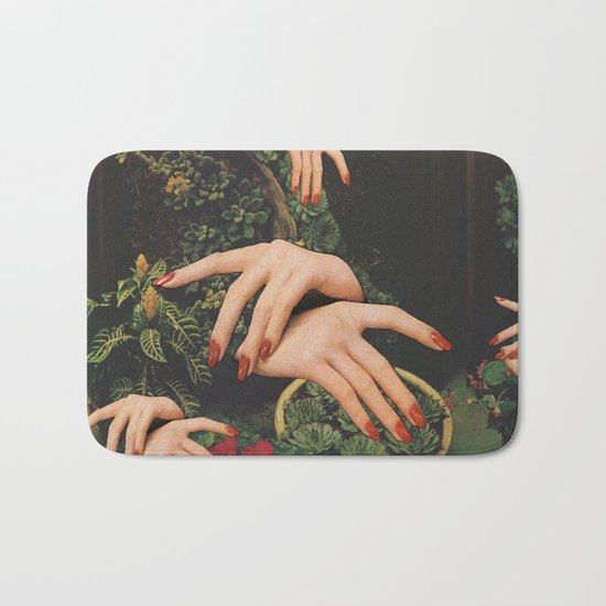 Touch Plants Bath Mat