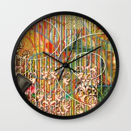 Being for the Benefit of Mr. Liddell's Daughters Wall Clock