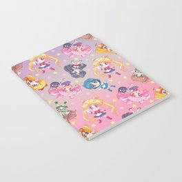 Chibis Crystal Pattern Notebook