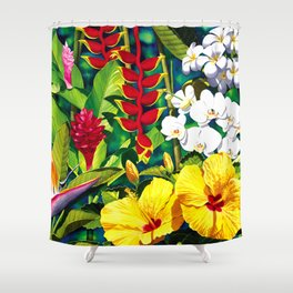 Tropical Panorama part 2 Shower Curtain