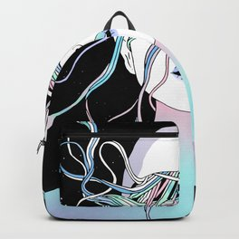 I See My Dreams and Memories Collide Backpack
