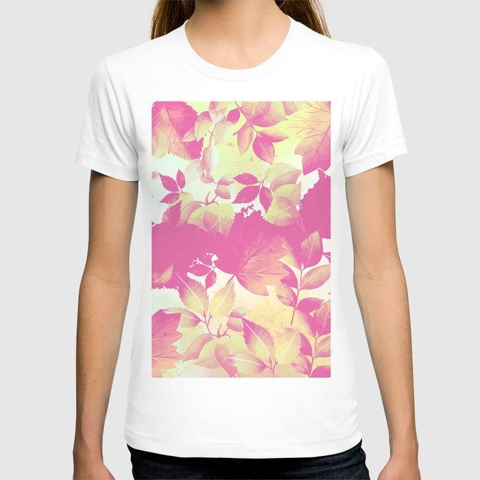 Watercolor Autumn Leaves 7 T-shirt