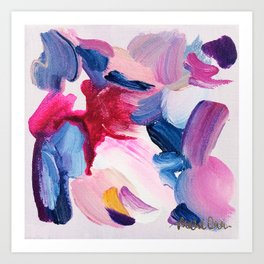 Lottie Abstract Painting Art Print