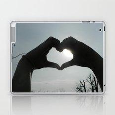 Hand Silhouette Laptop & iPad Skin
