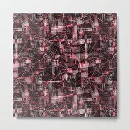 Abstract grunge. 3 Metal Print