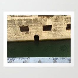 Doge's Palace Prison, Venice, Italy Art Print