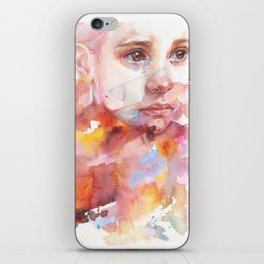 don't worry about it, you're a flower iPhone Skin
