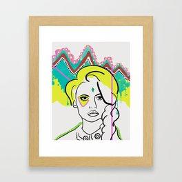 Nuclear Season Framed Art Print