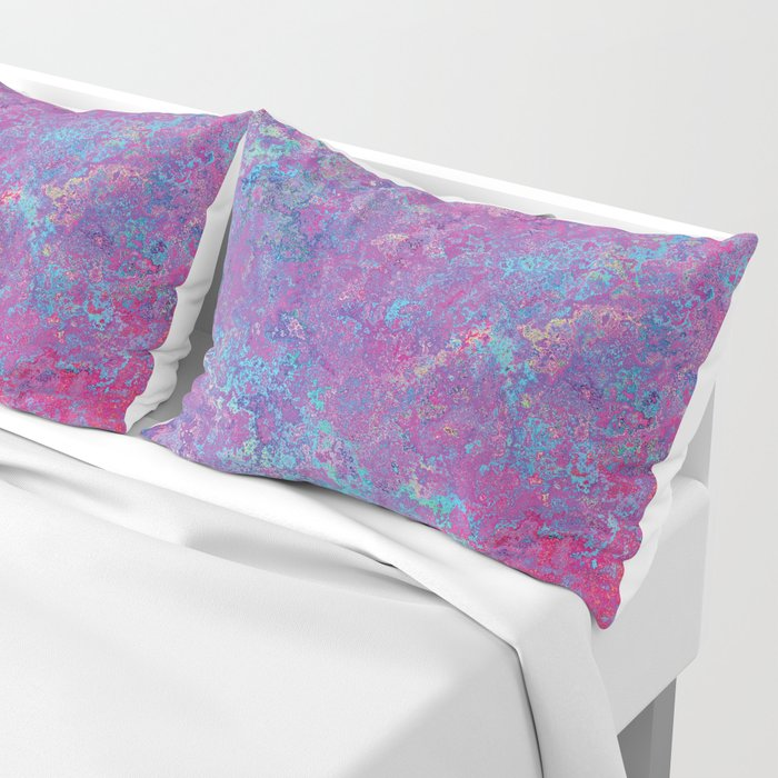 Acid Wash Pillow Sham