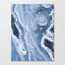 Earth blue Canvas Print