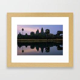 Angkor Wat, Siem Reap, Cambodia Framed Art Print