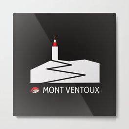 Mont Ventoux Metal Print