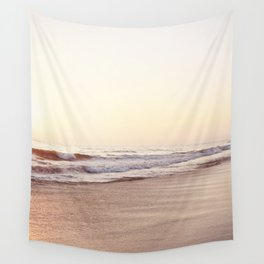 Peach Sunset Wall Tapestry