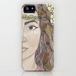Miriam iPhone Case