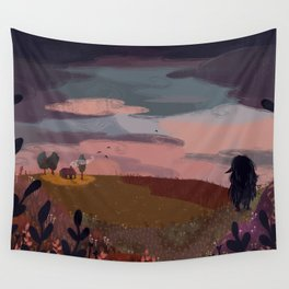 coming home Wall Tapestry