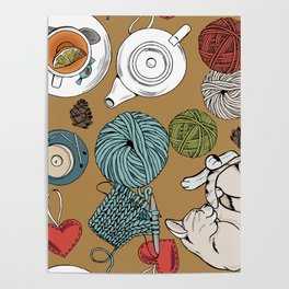 home cosiness Poster