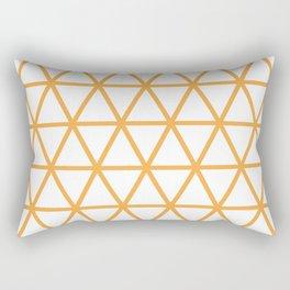 Light Orange Pattern 2 Rectangular Pillow