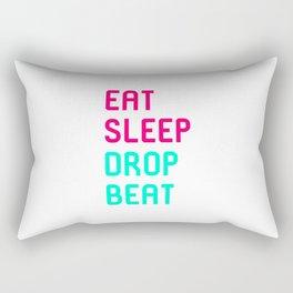 Eat Sleep Drop Beat High Pitch Rectangular Pillow