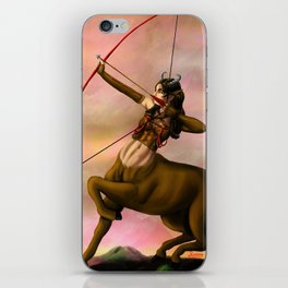 centaur hunter iPhone Skin
