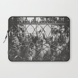 Skull Fence of New Orleans Laptop Sleeve