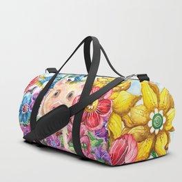 Penelope Pig Duffle Bag