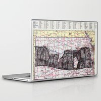 kansas Laptop & iPad Skins featuring Kansas by Ursula Rodgers