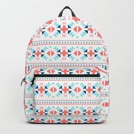 geometry navajo pattern Backpack