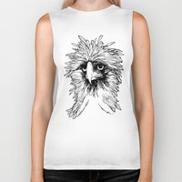 hawk Biker Tanks featuring Hawk  by Art is Vast