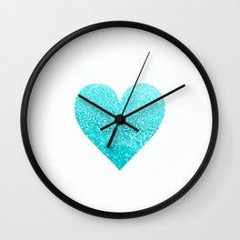 AQUA HEART Wall Clock