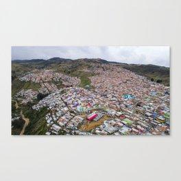 Ciudad Bolivar Canvas Print