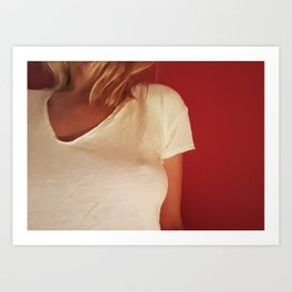 Peek Art Print