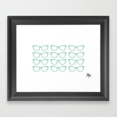 Glasses #5 Framed Art Print