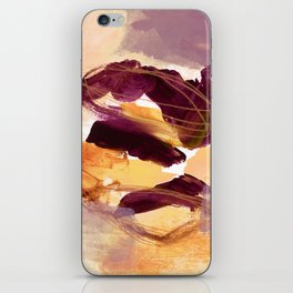 abstract painting XI iPhone Skin
