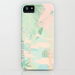 TROPICAL THEME iPhone Case
