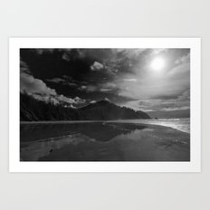 Oregon Cove Art Print