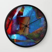 architect Wall Clocks featuring Architect Heart by SuzyQ