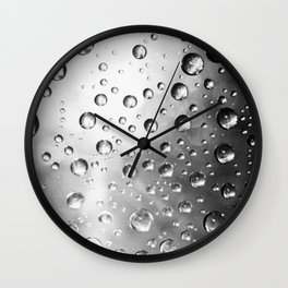 water drops Wall Clock
