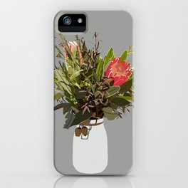 I CAN SMELL THE FLOWERS iPhone Case