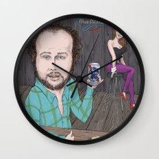Glory Daze Wall Clock