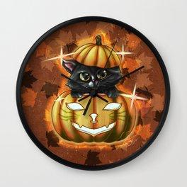 Spooky Cutey Wall Clock