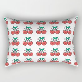 Cherry Pattern Rectangular Pillow