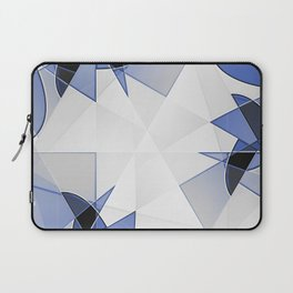 blue background for home decor Laptop Sleeve