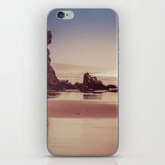 Ocean Beach - Oregon Sea at Dusk with Rocks iPhone & iPod Skin