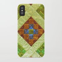 arab iPhone & iPod Cases featuring arab stained glass by tony tudor