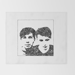 Danisnotonfire & AmazingPhil Throw Blanket